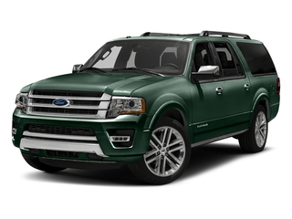 Green Gem Metallic 2016 Ford Expedition EL Pictures Expedition EL Utility 4D Platinum 4WD V6 Turbo photos front view