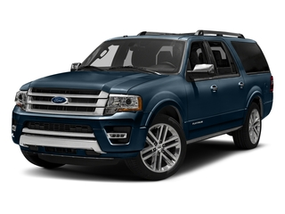 Blue Jeans Metallic 2016 Ford Expedition EL Pictures Expedition EL Utility 4D Platinum 4WD V6 Turbo photos front view