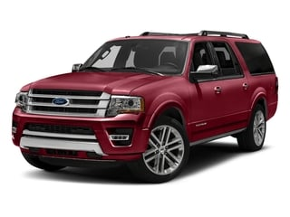 Ruby Red Metallic Tinted Clearcoat 2016 Ford Expedition EL Pictures Expedition EL Utility 4D Platinum 4WD V6 Turbo photos front view