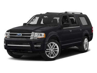 Shadow Black 2016 Ford Expedition EL Pictures Expedition EL Utility 4D Limited 4WD V6 Turbo photos front view