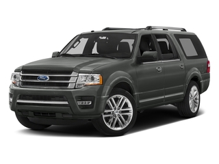 Magnetic Metallic 2016 Ford Expedition EL Pictures Expedition EL Utility 4D Limited 4WD V6 Turbo photos front view