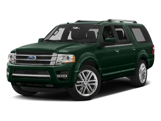 Green Gem Metallic 2016 Ford Expedition EL Pictures Expedition EL Utility 4D Limited 4WD V6 Turbo photos front view