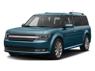 Too Good To Be Blue Metallic 2016 Ford Flex Pictures Flex Wagon 4D Limited AWD photos front view