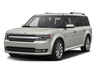 White Platinum Metallic Tri-Coat 2016 Ford Flex Pictures Flex Wagon 4D Limited AWD photos front view