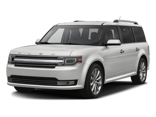 Oxford White 2016 Ford Flex Pictures Flex Wagon 4D Limited AWD photos front view