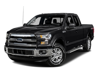 Shadow Black 2016 Ford F-150 Pictures F-150 Supercab Lariat 2WD photos front view