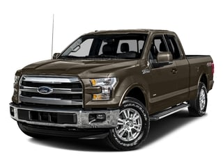 Caribou Metallic 2016 Ford F-150 Pictures F-150 Supercab Lariat 2WD photos front view