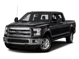 Shadow Black 2016 Ford F-150 Pictures F-150 Crew Cab Lariat 4WD photos front view