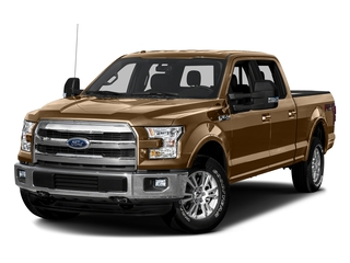 Bronze Fire Metallic 2016 Ford F-150 Pictures F-150 Crew Cab Lariat 4WD photos front view