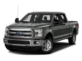 Magnetic Metallic 2016 Ford F-150 Pictures F-150 Crew Cab Lariat 4WD photos front view