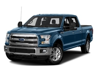 Blue Jeans Metallic 2016 Ford F-150 Pictures F-150 Crew Cab Lariat 4WD photos front view