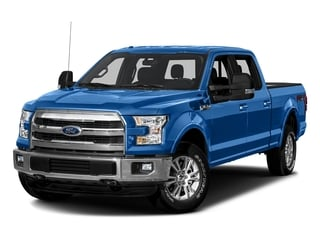 Blue Flame Metallic 2016 Ford F-150 Pictures F-150 Crew Cab Lariat 4WD photos front view