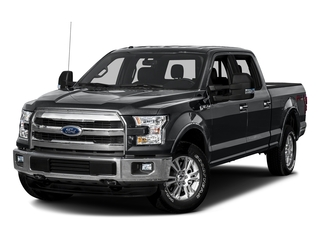 Lithium Gray 2016 Ford F-150 Pictures F-150 Crew Cab Lariat 4WD photos front view