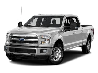 Ingot Silver Metallic 2016 Ford F-150 Pictures F-150 Crew Cab Lariat 4WD photos front view