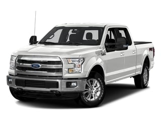 Oxford White 2016 Ford F-150 Pictures F-150 Crew Cab Lariat 4WD photos front view