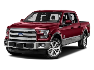 Ruby Red Metallic Tinted Clearcoat 2016 Ford F-150 Pictures F-150 Crew Cab King Ranch 4WD photos front view