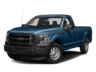 Blue Jeans Metallic 2016 Ford F-150 Pictures F-150 Regular Cab XL 4WD photos front view