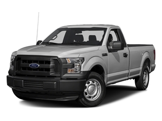 Ingot Silver Metallic 2016 Ford F-150 Pictures F-150 Regular Cab XL 4WD photos front view
