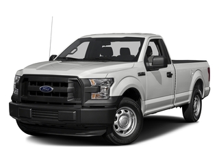 Oxford White 2016 Ford F-150 Pictures F-150 Regular Cab XL 2WD photos front view