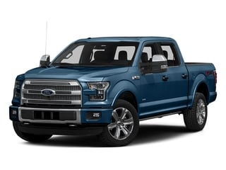 Blue Jeans Metallic 2016 Ford F-150 Pictures F-150 Crew Cab Platinum 2WD photos front view