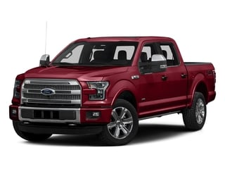 Ruby Red Metallic Tinted Clearcoat 2016 Ford F-150 Pictures F-150 Crew Cab Platinum 2WD photos front view