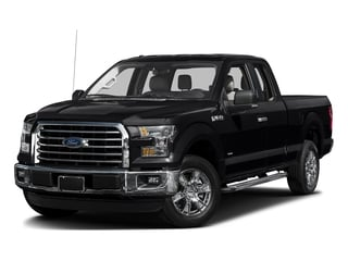 Shadow Black 2016 Ford F-150 Pictures F-150 Supercab XLT 2WD photos front view