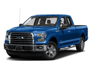 Blue Flame Metallic 2016 Ford F-150 Pictures F-150 Supercab XLT 2WD photos front view