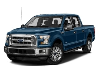 Blue Jeans Metallic 2016 Ford F-150 Pictures F-150 Crew Cab XLT 2WD photos front view