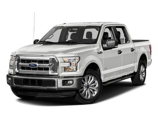 Oxford White 2016 Ford F-150 Pictures F-150 Crew Cab XLT 2WD photos front view