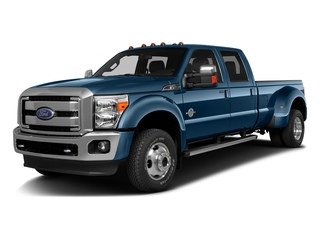 Blue Jeans Metallic 2016 Ford Super Duty F-350 DRW Pictures Super Duty F-350 DRW Crew Cab Lariat 4WD photos front view
