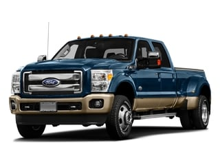Blue Jeans Metallic 2016 Ford Super Duty F-450 DRW Pictures Super Duty F-450 DRW Crew Cab King Ranch 4WD T-Diesel photos front view