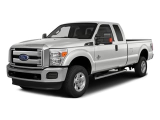 Oxford White 2016 Ford Super Duty F-350 DRW Pictures Super Duty F-350 DRW Supercab XLT 4WD photos front view