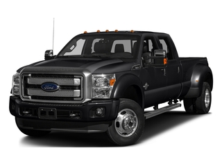 Shadow Black 2016 Ford Super Duty F-450 DRW Pictures Super Duty F-450 DRW Crew Cab Platinum 4WD T-Diesel photos front view