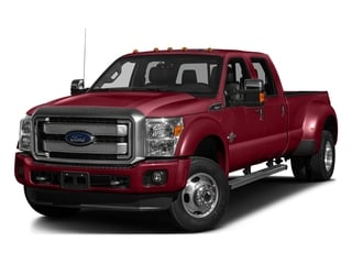 Ruby Red Metallic Tinted Clearcoat 2016 Ford Super Duty F-450 DRW Pictures Super Duty F-450 DRW Crew Cab Platinum 4WD T-Diesel photos front view