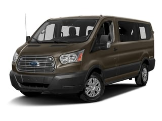 Caribou Metallic 2016 Ford Transit Wagon Pictures Transit Wagon Passenger Van XLT Low Roof photos front view