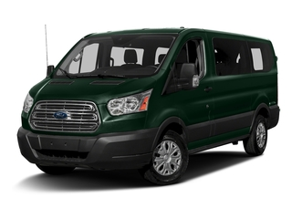Green Gem Metallic 2016 Ford Transit Wagon Pictures Transit Wagon Passenger Van XLT Low Roof photos front view