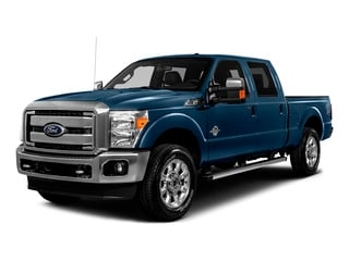 Blue Jeans Metallic 2016 Ford Super Duty F-250 SRW Pictures Super Duty F-250 SRW Crew Cab XL 4WD photos front view