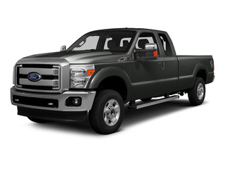 Magnetic Metallic 2016 Ford Super Duty F-250 SRW Pictures Super Duty F-250 SRW Supercab XLT 2WD photos front view