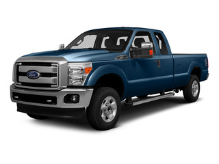 Blue Jeans Metallic 2016 Ford Super Duty F-250 SRW Pictures Super Duty F-250 SRW Supercab XLT 2WD photos front view