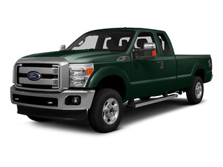 Green Gem Metallic 2016 Ford Super Duty F-250 SRW Pictures Super Duty F-250 SRW Supercab XLT 2WD photos front view