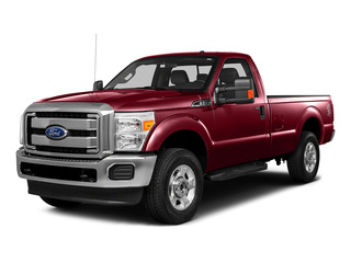 Ruby Red Metallic Tinted Clearcoat 2016 Ford Super Duty F-250 SRW Pictures Super Duty F-250 SRW Regular Cab XLT 4WD photos front view