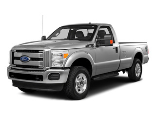 Ingot Silver Metallic 2016 Ford Super Duty F-250 SRW Pictures Super Duty F-250 SRW Regular Cab XL 2WD photos front view