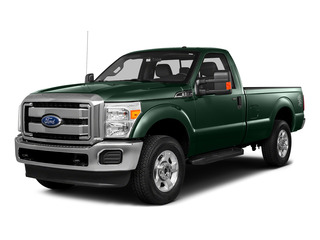 Green Gem Metallic 2016 Ford Super Duty F-250 SRW Pictures Super Duty F-250 SRW Regular Cab XL 2WD photos front view