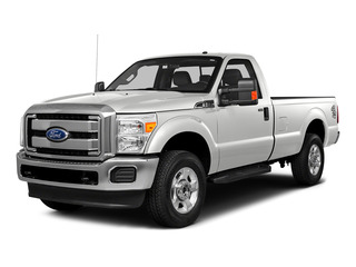 Oxford White 2016 Ford Super Duty F-250 SRW Pictures Super Duty F-250 SRW Regular Cab XL 2WD photos front view