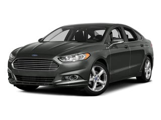 Magnetic 2016 Ford Fusion Pictures Fusion Sedan 4D SE EcoBoost 2.0L I4 photos front view