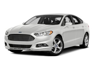 White Platinum Metallic Tri-Coat 2016 Ford Fusion Pictures Fusion Sedan 4D SE EcoBoost 2.0L I4 photos front view