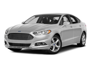 Ingot Silver 2016 Ford Fusion Pictures Fusion Sedan 4D SE EcoBoost 2.0L I4 photos front view