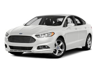 Oxford White 2016 Ford Fusion Pictures Fusion Sedan 4D SE EcoBoost 2.0L I4 photos front view