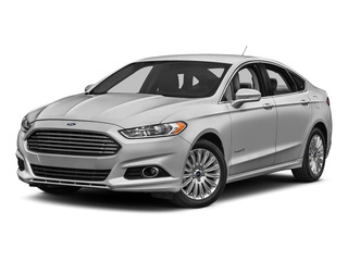 Ingot Silver 2016 Ford Fusion Pictures Fusion Sedan 4D S I4 Hybrid photos front view