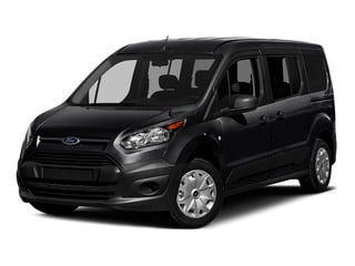 Shadow Black 2016 Ford Transit Connect Wagon Pictures Transit Connect Wagon Extended Passenger Van XLT photos front view